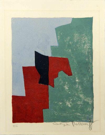 Serge Poliakoff, 'Composition rouge, verte et bleue n°32', 1961