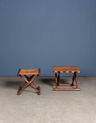 Poul Hundevad, 'Guldhoj ou PH 43, Pair of stools', vers 1950