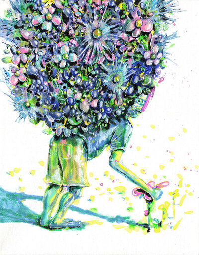 TJ Griffin, 'Gathering Flowers', 2017