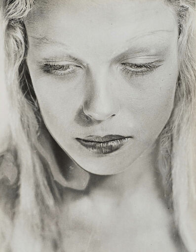 Erwin Blumenfeld, 'Tara Twain, from Hollywood, My first American girl, Amsterdam', 1935