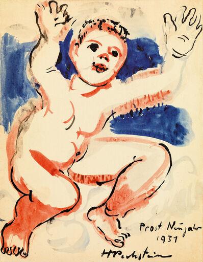Max Pechstein, 'Cheers New Year', 1931