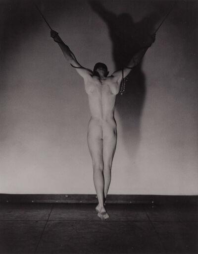 George Platt Lynes, '[Hanging male nude]', 1941