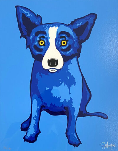 George Rodrigue, 'Blue Skies Shining on Me', 2005