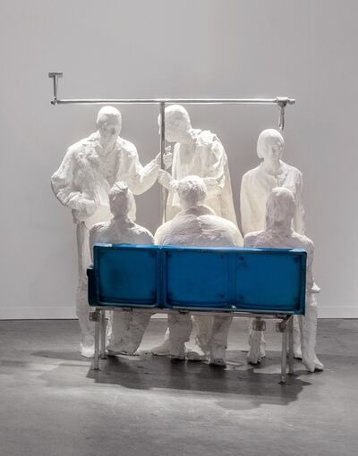 George Segal, 'Bus passengers', 1997