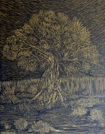 Fouad Agbaria, 'Whose Oil Would Almost Illuminate 1', 2020