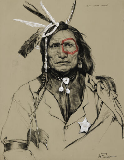 Andre Pater, 'Iron White Man (Oglala Sioux)', Contemporary