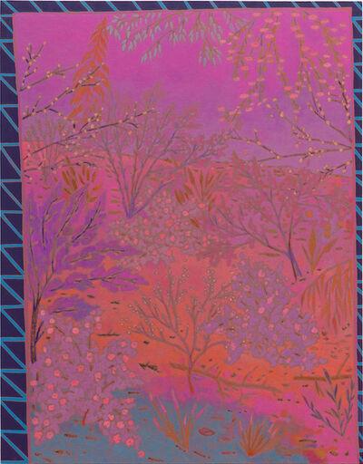 John McAllister, 'sometimes glimmer softly', 2016