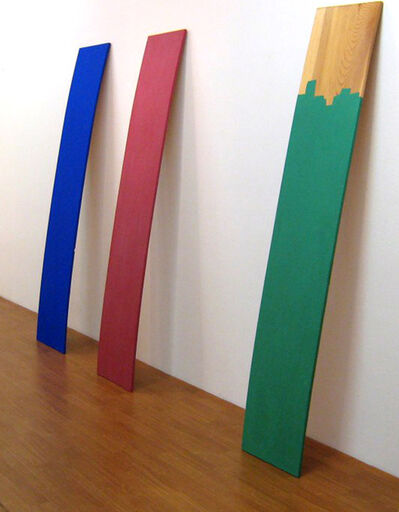 Susumu Koshimizu, 'Chesnut and Tricolor', 1986