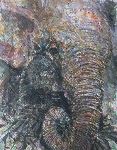 Sawan Tantiwan, 'Kuiburi Elephant Reserve V', 2020
