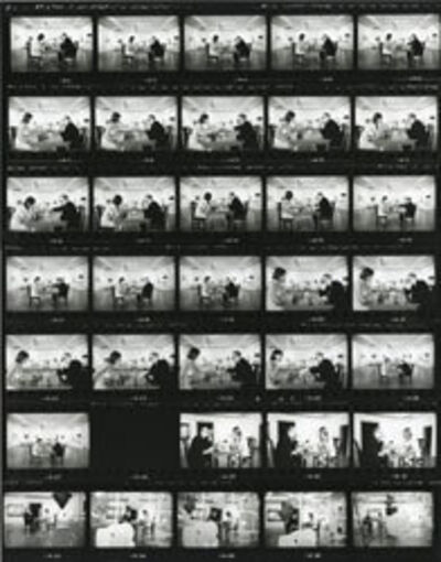 Julian Wasser, 'Contact Sheet for Duchamp Playing Chess with a Nude (Eve Babitz), Duchamp Retrospective, Pasadena Art Museum', 1963