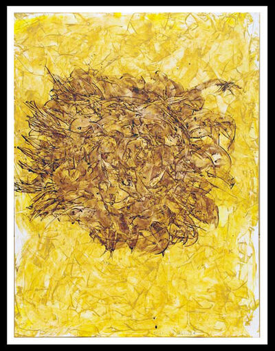 William S. Burroughs, 'Smug Crop Circle', 1992
