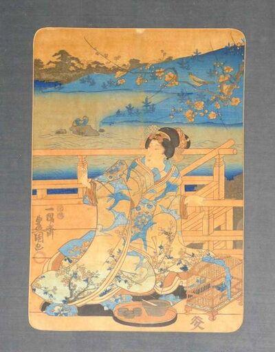 Utagawa Toyokuni III (Utagawa Kunisada), 'Woman', 1830 Ca