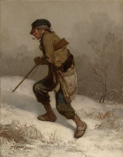 Alexandre-Gabriel Decamps, 'The Poacher', ca. 1847