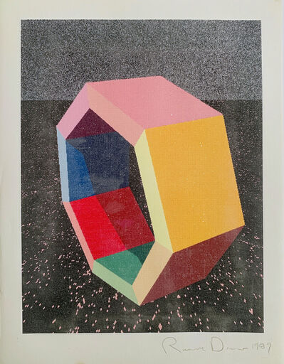 "Ronald Davis, 'Heptagon Study ""Ray-Trace"" Series by Ronald Davis', 1989"