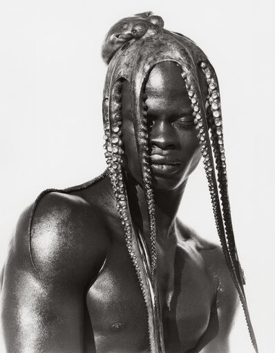 Herb Ritts, 'Djimon with Octopus, Hollywood (B)', 1989