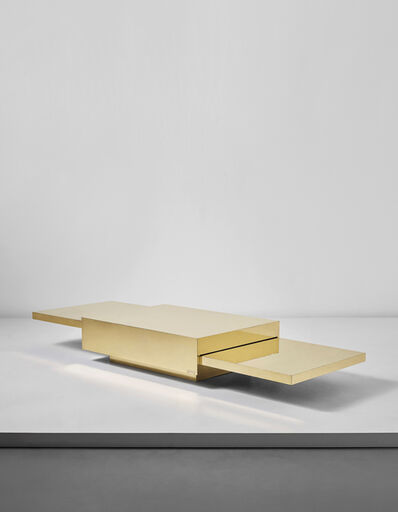 Gabriella Crespi, ''2000' extendable coffee table, from the 'Plurimi' series', ca. 1970
