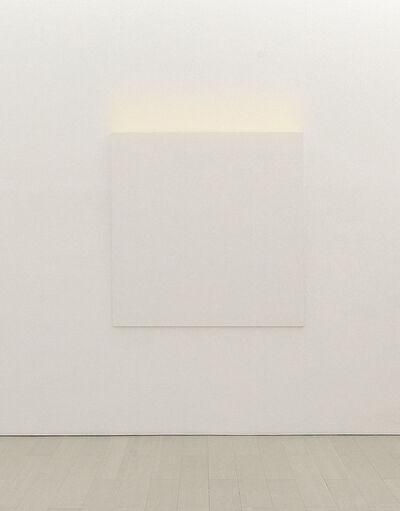 Ettore Spalletti, 'La luce e il colore, bianco neve', 2013