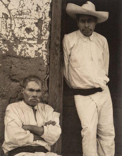 Paul Strand, 'Men of Santa Ana, Michoacan', 1933