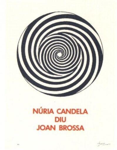 Joan Brossa, 'A.L. Núria Candela', 1991