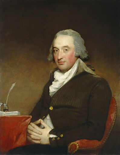 Gilbert Stuart, 'George Pollock', 1793/1794