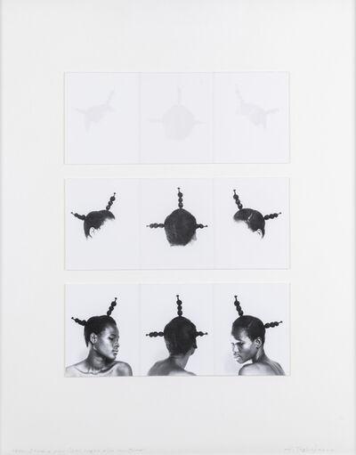 """Aldo Tagliaferro, 'Studio per """"Dal segno alla scrittura""""', 1983"""