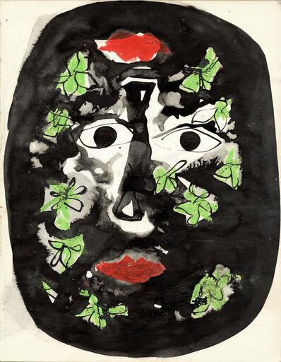 John Piper, 'Foliate Head Study II', ca. 1971