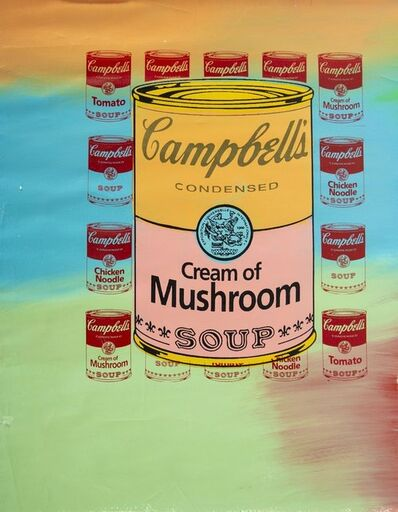 "Steve Kaufman, 'Steve Kaufman  (1960-2010) -- Description : ""Campbell's Soup""', 1960-2010"