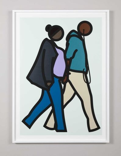 Julian Opie, 'New York Couples 6', 2019