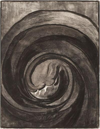 Georgia O'Keeffe, 'Plate IV Drawing No.8', 1968