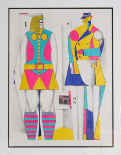 Richard Lindner, '1+1-2 (From Graphics USA)', 1967