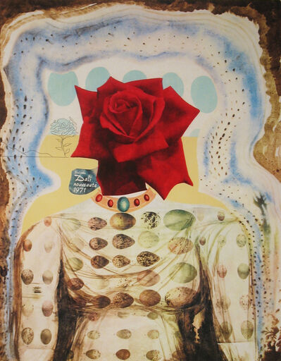 Salvador Dalí, 'Surrealist Flower Girl', 1971