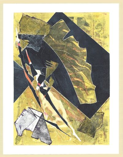Albert Paley, 'Burning Bones Texas Monoprint  43', 2012