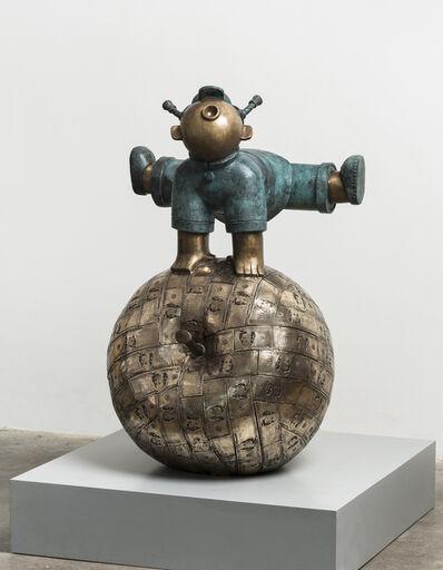Jiang Shuo 蒋朔, '大跃进 3 (金); Great Jump 3 (Gold)', 2015