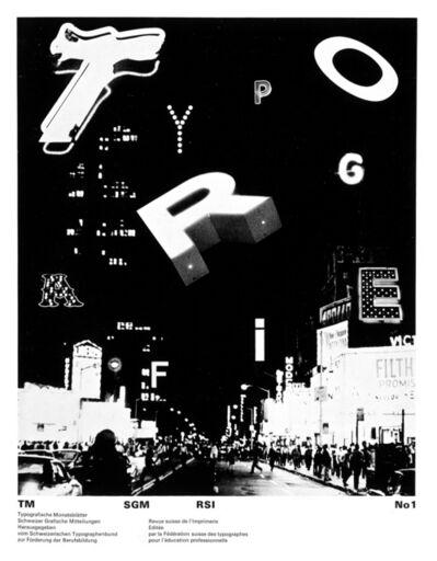 Dan Friedman, 'Typografie', 1970-1971