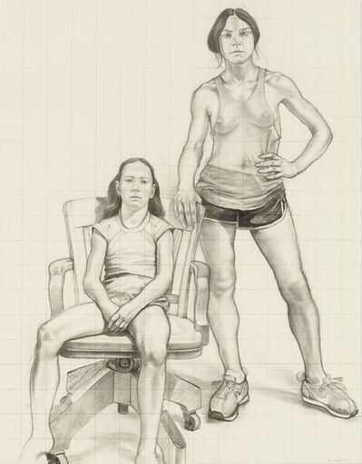 William Beckman, 'Study for Diana and Deidra', 1979