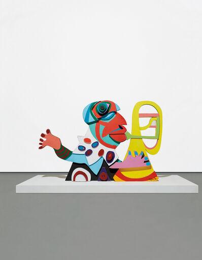 Karel Appel, 'Amsterdam Clown, from Circus', 1978