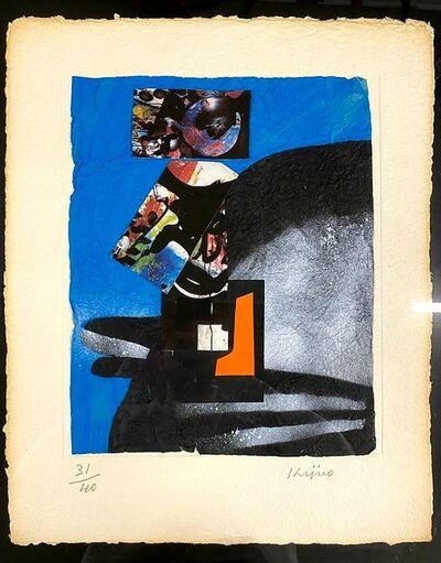 Ladislas Kijno, 'Liberté du monde bleu', ca. 1980