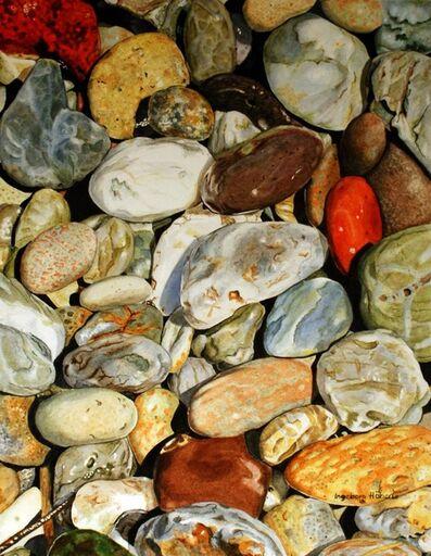 Ingeborg Haeberle, 'Argentian Stones', 2013
