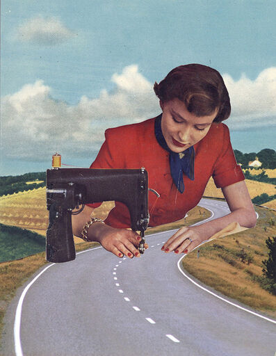 Joe Webb, 'The Long and Winding Road - Original', 2020