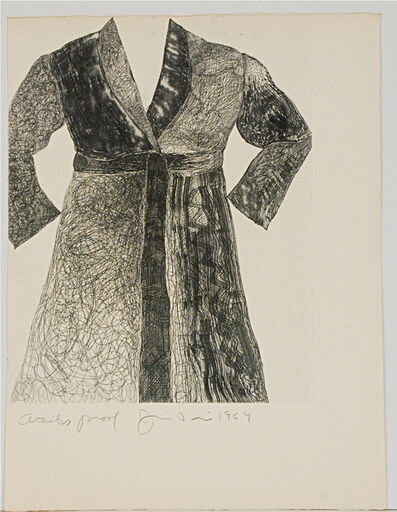 Jim Dine, 'Untitled (Bathrobe)', 1964