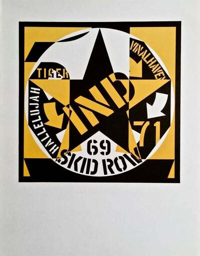 Robert Indiana, '69 Skid Row', 1973