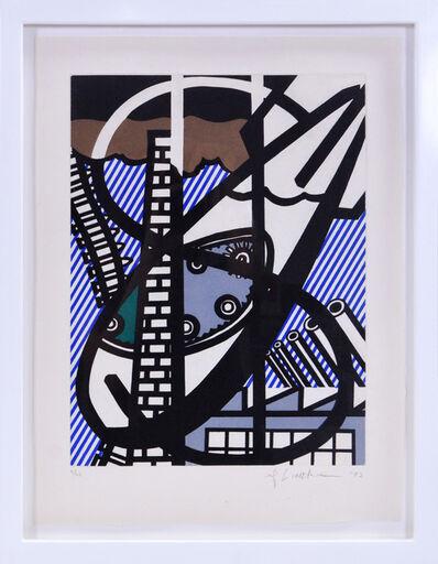 Roy Lichtenstein, 'Une Fenêtre ouverte sur Chicago, from La Nouvelle Chute de l'Amérique', 1992