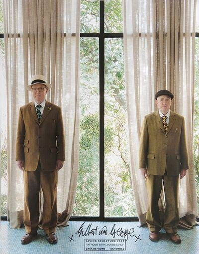 Gilbert and George, 'At home with Lina Bo Bardi ', 2012