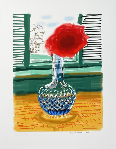 David Hockney, 'iPad drawing 'No. 281', 23rd July 2010', 2019