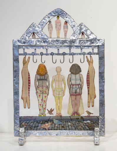 Tom Duncan, 'Meat Market Girls Get Dressed (No. 1)', 2014