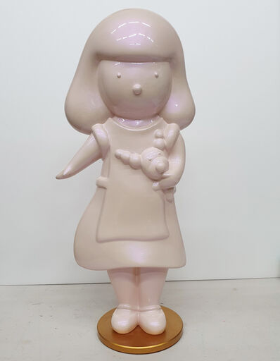 noh jun, 'Pink Pearl Pink Alice and Hayami', 2016