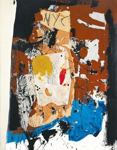 Robert Motherwell, 'New York City Collage', 1959