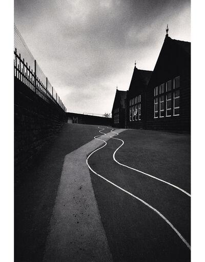 Michael Kenna, 'Schoolyard, Heptonstall, Yorkshire, England', 1983