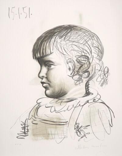 Pablo Picasso, 'Portrait d'Enfant, 1951', 1979-1982