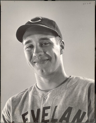Gjon Mili, 'Cleveland Indians Pitcher Bob Feller', 1940